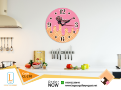 ساعة حائط للمطبخ